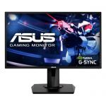 "image produit ASUS VG248QG - Ecran PC gaming eSport 24"" FHD - Dalle TN - 16:9 - 165Hz - 0,5ms - 1920x1080 - 350cd/m² - Display Port, HDMI et DVI - AMD FreeSync - Nvidia G-Sync - Haut-parleurs - livrable en France"