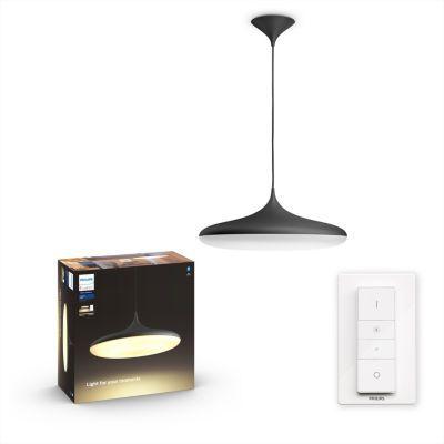 image Philips Lighting 8718696175101 Suspension, Plastique, Noir