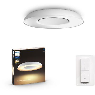 image produit Philips Lighting 8718696175200 Plafonnier, Métal, Blanc
