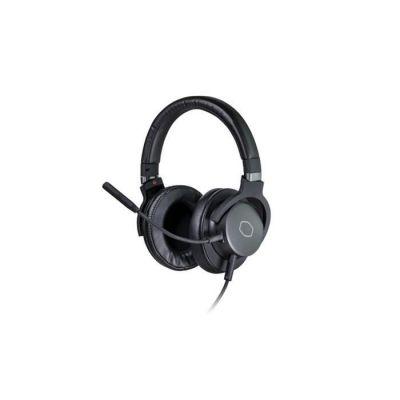 image Cooler Master MH752 Micro-casque gaming avec son surround virtuel 7.1 - compatible PC & console, transducteurs néodyme 40 mm, micro son cristallin, confort & léger - Prise USB / 3,5 mm Jack standard