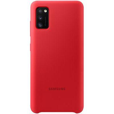 image Samsung EF-PA415 Coque de Protection en Silicone pour Galaxy A41, Rouge