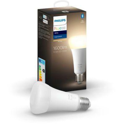 image Philips Hue White ampoule E27 100W, compatible Bluetooth