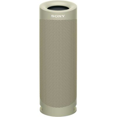 image Sony SRS-XB23   Enceinte Portable EXTRA BASS Bluetooth Stéréo, Sans Fil, résistante aux chocs, étanche pour Plage et Piscine, Gris Sable, SRSXB23