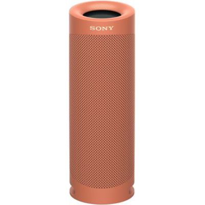 image Sony SRS-XB23   Enceinte Portable EXTRA BASS Bluetooth Stéréo, Sans Fil, résistante aux chocs, étanche pour Plage et Piscine, Rouge Fusion
