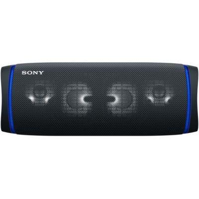 image Sony SRS-XB43 | Enceinte Portable EXTRA BASS Bluetooth Stéréo, Sans Fil, résistante aux chocs, étanche pour Plage et Piscine, Noir Basalte