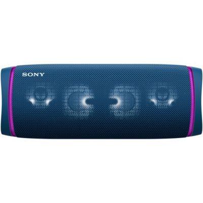 image Sony SRS-XB43 | Enceinte Portable EXTRA BASS Bluetooth Stéréo, Sans Fil, résistante aux chocs, étanche pour Plage et Piscine, Bleu Lagon