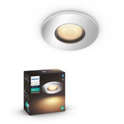 image Philips Lighting 8718696175644 Spot, Plastique, Chrome