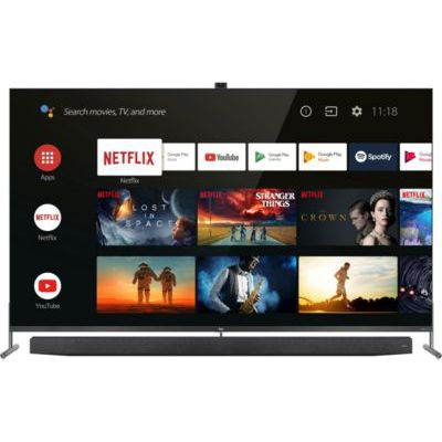 image TV QLED TCL 75X915 Android TV