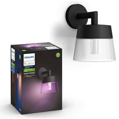 image Philips Hue White and Color ambiance ATTRACT, Applique Mural noire
