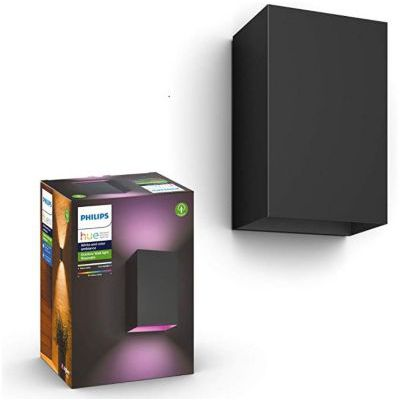 image Philips Hue White and Color ambiance RESONATE, Applique noire