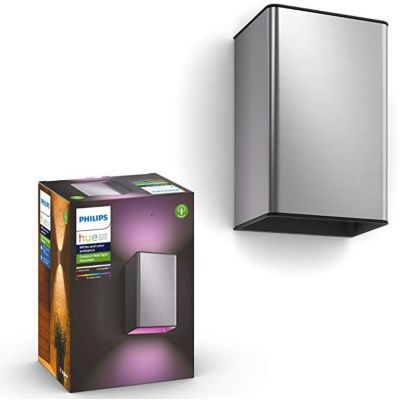 image produit Philips Hue White and Color ambiance RESONATE, Applique inox - livrable en France