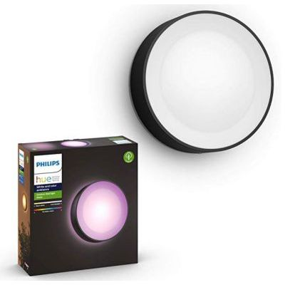 image Philips Hue White and Color ambiance DAYLO, Applique noire