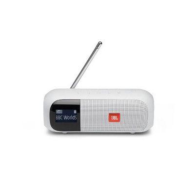 image Radio Jbl Enceinte portable radio DAB/FM, Tuner 2 Blanc