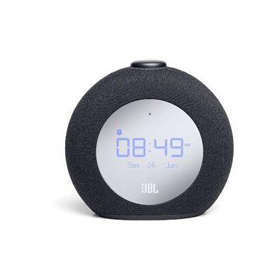 image JBL Horizon2 – Enceinte radio réveil Bluetooth avec DAB/DAB+ et FM – Radio réveil avec lumière ambiante – Noir
