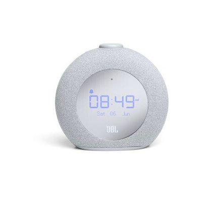 image produit JBL Horizon2 – Enceinte radio réveil Bluetooth avec DAB/DAB+ et FM – Radio réveil avec lumière ambiante – Gris - livrable en France
