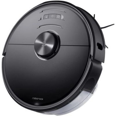 image Roborock S6 MaxV robot aspirateur 2500Pa Double caméra Technologie Reactiv AI Superficie 250m² Bac 460ml Bac eau 290ml App Roborock Amazon Alexa Noir