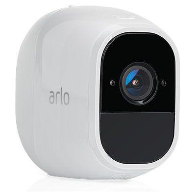 image Arlo Pro 2 | Caméra additionnelle pour systeme Arlo Pro et Arlo Pro 2, Batterie rechargeable, Alarme 100 dB, Son bidirectionnel, 1080p Jour/Nuit, Etanche IP65 Intérieur/Extérieur (VMC4030P)
