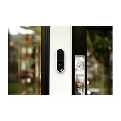 image Sonnette vidéo connectée Arlo Doorbell  (extérieure) | 1080p, Appel Direct vers Mobile, sirène Intelligente, Vision de Nuit, AVD1001 (2020)