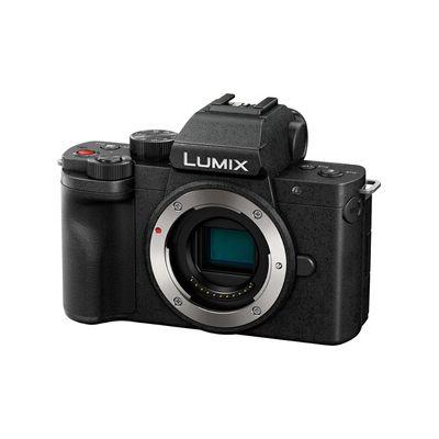 image Panasonic Lumix G100   Appareil Photo Hybride Compact (Capteur 4/3 20MP, Écran orient. tact., Viseur 3680Kpts, Micro OZO Audio, Vidéo 4K, Vlog-L, WiFi) Noir – Version Française