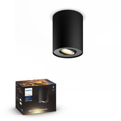 image Philips Lighting 8718696175514 Spot, Métal, Noir
