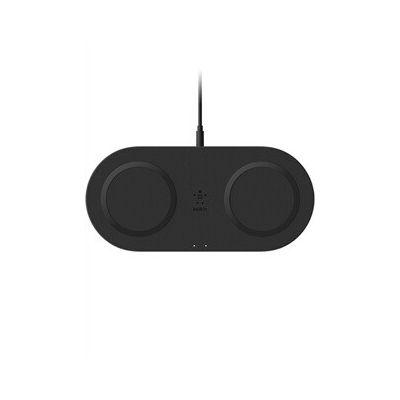 image Belkin Double station de recharge à induction (sans fil) 10 W pour smartphone et accessoires... - noir
