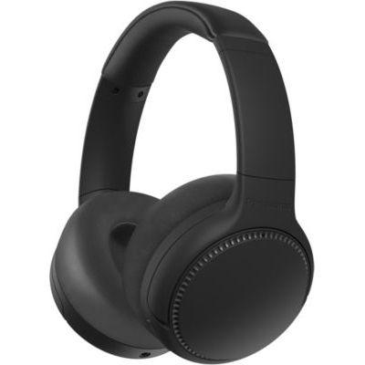 image Panasonic RB-M500BE-K Écouteurs Intra-Auriculaires Bluetooth avec Commande vocale, réacteur des Basses 1,2 m et autonomie jusqu'à 30 h Noir