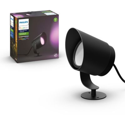 image Philips Hue White and Color ambiance LILY, Spot XL 1x15W noir
