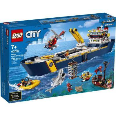 image produit LEGO-Le Bateau d'exploration océanique City Jeux de Construction, 60266, Multicolore - livrable en France