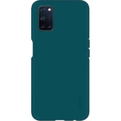 image OPPO Coque de Protection Verte en Silicone A72