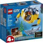 image produit LEGO-Le Mini sous-Marin City Jeux de Construction, 60263, Multicolore - livrable en France