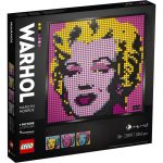 LEGO 31197 Art Andy Warhol's Marilyn Monroe Set pour Adultes, Edition Collector à Faire Soi Même - Toile de Décoration Murale