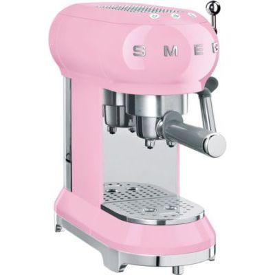 image Smeg ECF01PKEU - Machine à café espresso - 1350W - Rose