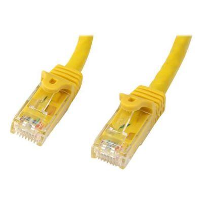 image STARTECH Câble réseau Cat6 UTP sans crochet de 10 m - Câble patch - M/M - Jaune