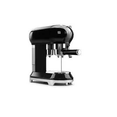 image Smeg 146873 Machine à café Expresso ECF01BLEU, Noir
