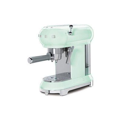 image produit Smeg ECF01PGEU Machine à café espresso, Pastellgrün