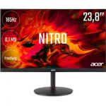 "image produit Écran PC 23.8"" Acer Nitro XV240YPbmiiprx - Full HD, Dalle IPS, HDR 10, 165 Hz, 0.1 ms, Technologie Freesync"