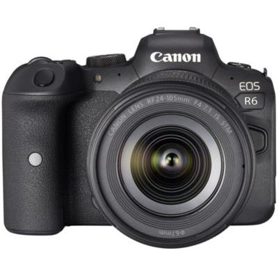 image produit Canon EOS R6+RF 4,0-7,1/24-105 mm IS STM Kit