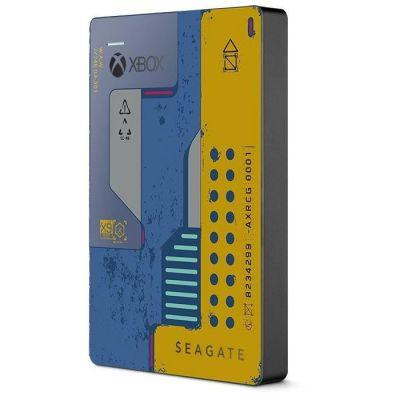 image Seagate Game Drive pour Xbox 2 To, Disque dur externe portable HDD, USB 3.0 Édition spéciale CyberPunk 2077, conçu pour Xbox One, services Rescue valables deux ans (STEA2000428)