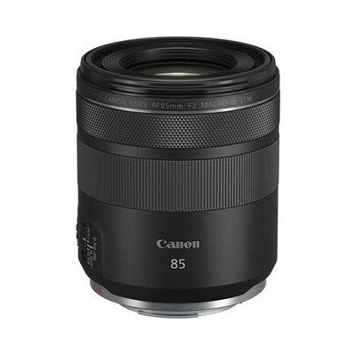 image Canon Objectif RF 85mm F2 MACRO IS STM Noir