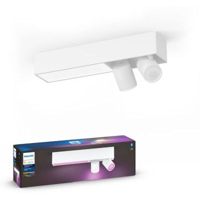 image Philips Hue White and Color Ambiance Centris 2 Spots - Blanc, compatible Bluetooth