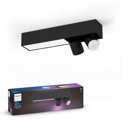 image Philips Hue White and Color Ambiance Centris 2 Spots - Noir, compatible Bluetooth
