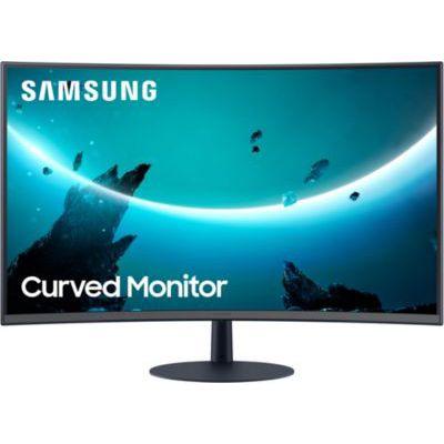"image SAMSUNG C27T550FDU Ecran PC Incurvé 1000R, Dalle VA 27"", Résolution Full HD (1920 x 1080), 75 Hz, 4ms, AMD FreeSync, Noir"