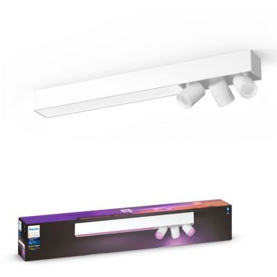 image produit Philips Lighting Hue White and Color Ambiance Centris 3 Spots - Blanc, compatible Bluetooth