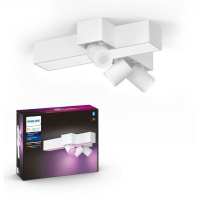 image Philips Hue White and Color Ambiance Centris 3 Spots - Blanc, compatible Bluetooth