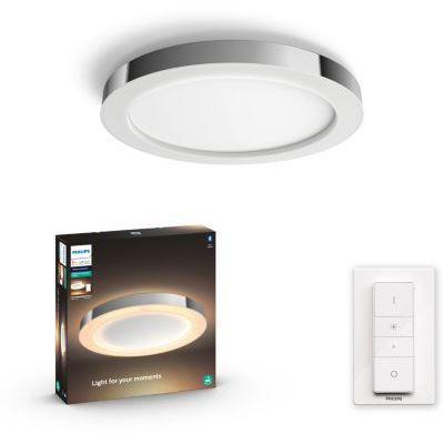 image Philips Lighting 915005920201 Plafonnier salle de bain Hue, Métal, Blanc