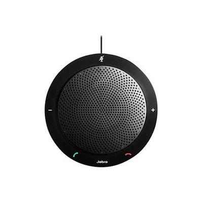 image Jabra Speak 410 Haut Parleur – Enceinte Portable Certifiée Microsoft avec USB – Connectivité Plug-And-Play avec les Ordinateurs. Boîte de vente au détail