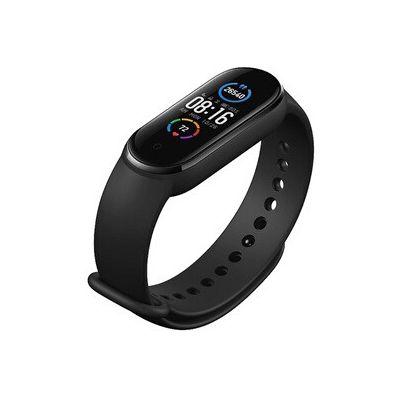 image Xiaomi Band 5 Smart Fitness Bracelet Cardiofréquence mètre, Bracelet étanche de Sport, 2020 Dernier écran Bluetooth 5.0 Couleur AMOLED, Noir, Mi Bande 5, Noir M