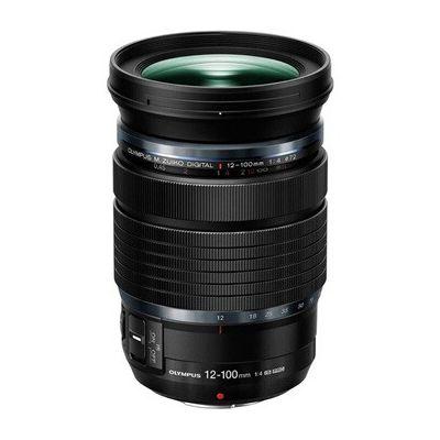 image Olympus M.Zuiko Objectif Digital ED 12-100mm F4 IS Pro, convient à tous les appareils photo MFT (Olympus OM-D & PEN, modèles Panasonic série G), noir