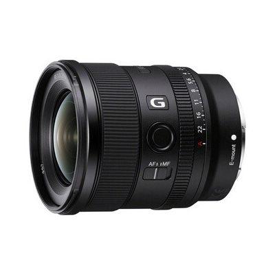 image Sony SEL20F18G - Objectif FE 20mm F1.8 G Plein Format - Objectif Grand Angle de Haute qualité à Large Ouverture pour Photos et Vidéos