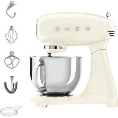 image Smeg SMF03CREU Robot de cuisine 10 vitesses en acier inoxydable Crème